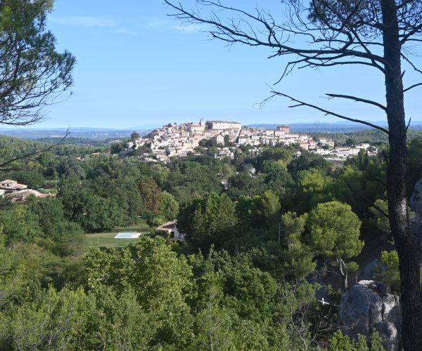 Photo village de Cabriès vu de Fontaube